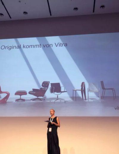 Nora Fehlbaum, CEO der Vitra International AG